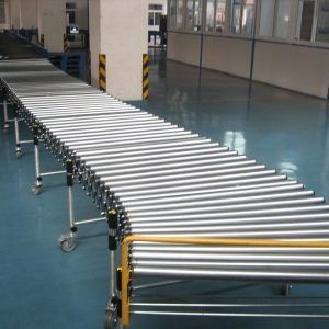Extendable Gravity Roller Conveyor - Extendable Conveyor Systems