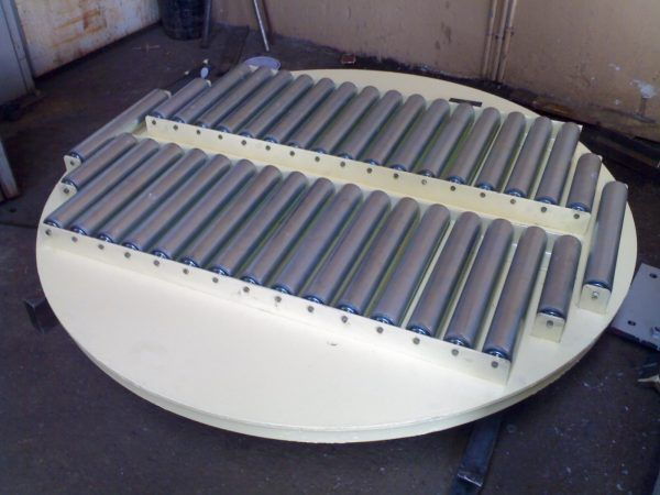 Turntable with Gravity Roller - Conveyor Turntables